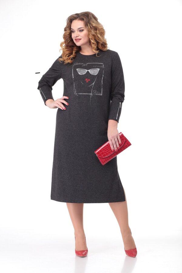 Платье трикотажное из Беларуси большие размеры купить