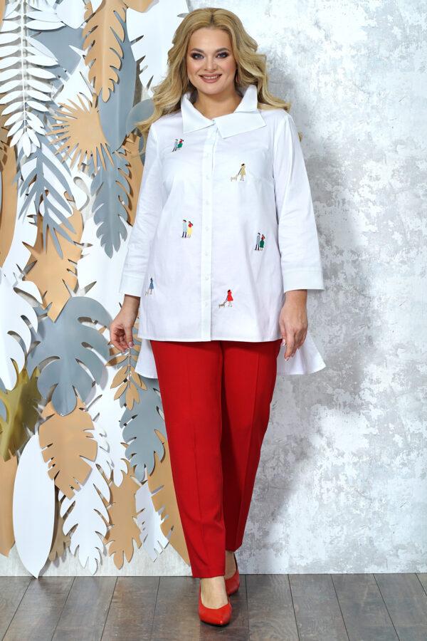Красно-белый костюмбрючный ALANI 1371 купить
