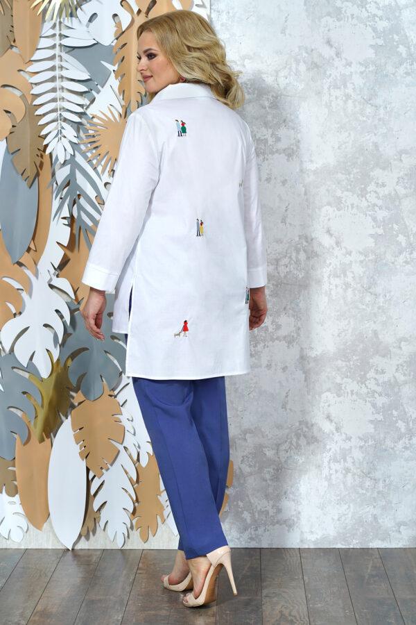 ALANI COLLECTION 1371 белый/лазурно-синие