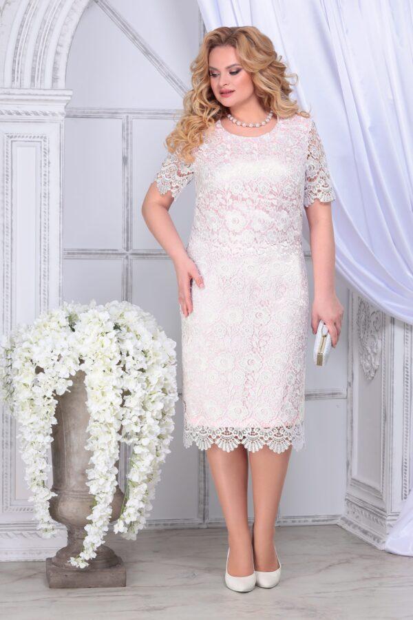 Праздничные платья больших размеров NINELE 2296 купить