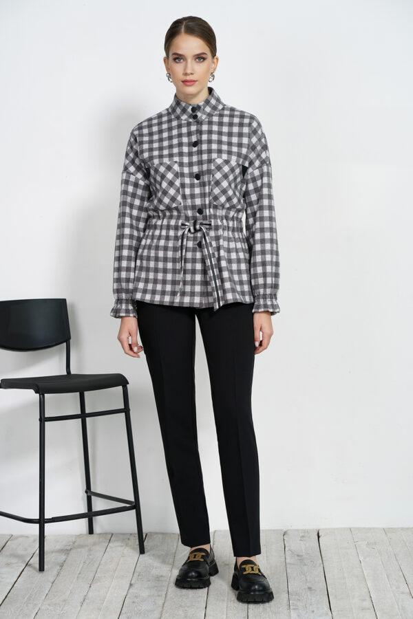 Жакет и брюки чёрные ALANI COLLECTION 1550 купить